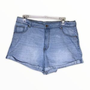 No Boundaries High Rise Cuffed Shorts